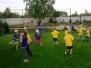 Motylki i Koniki Polne trenują piłkę nożną 09.2015