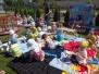Piknik na kocykach i czytanie książki 03.06.2015